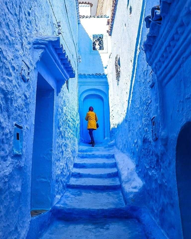 La città di Fez ed il villaggio blu di Chefchaouen